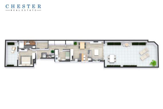 Piso en Venta de 51 m² en La Barceloneta, Ciutat Vella - Chester Real Estate